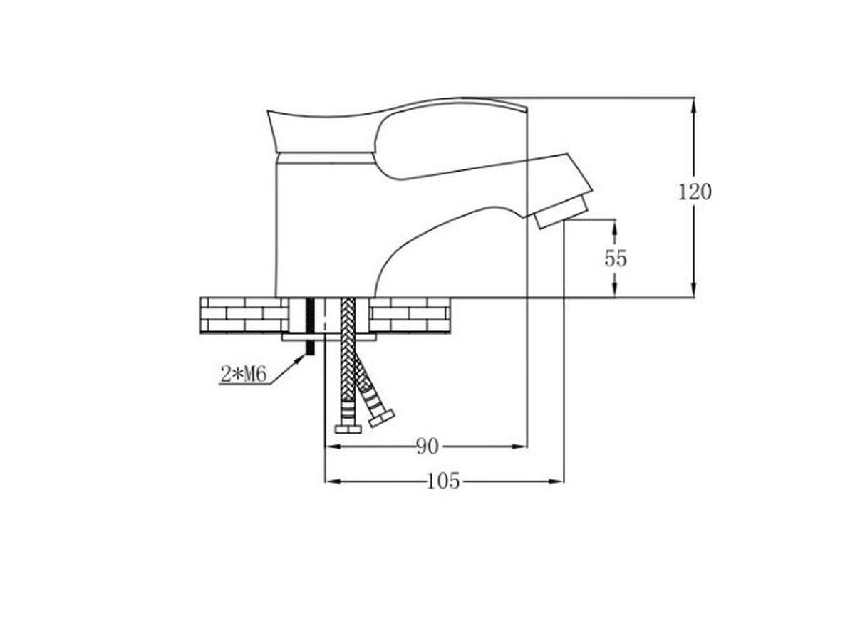 """Смеситель """"РМС"""", предназначенный для смешивания  холодной и горячей воды, устанавливается на кухонную мойку.  Изделие изготовлено из высококачественной первичной  латуни, прочной, безопасной и стойкой к коррозии.  Инновационные технологии литья и обработки латуни, а  также увеличенная толщина стенок смесителя обеспечивают  его стойкость к перепадам давления и температур.  Никель-хромовое покрытие обеспечивает его стойкость и  зеркальный блеск в течение всего срока службы изделия.   В комплекте гибкая подводка. Картридж: 35 мм. Крепление: на гайке. Аэратор: пластиковый."""