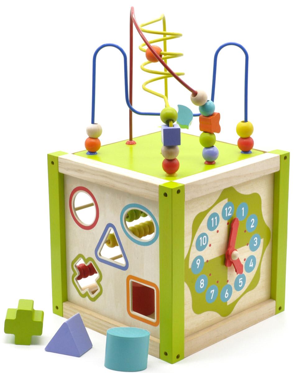 Мир деревянных игрушек Универсальный куб