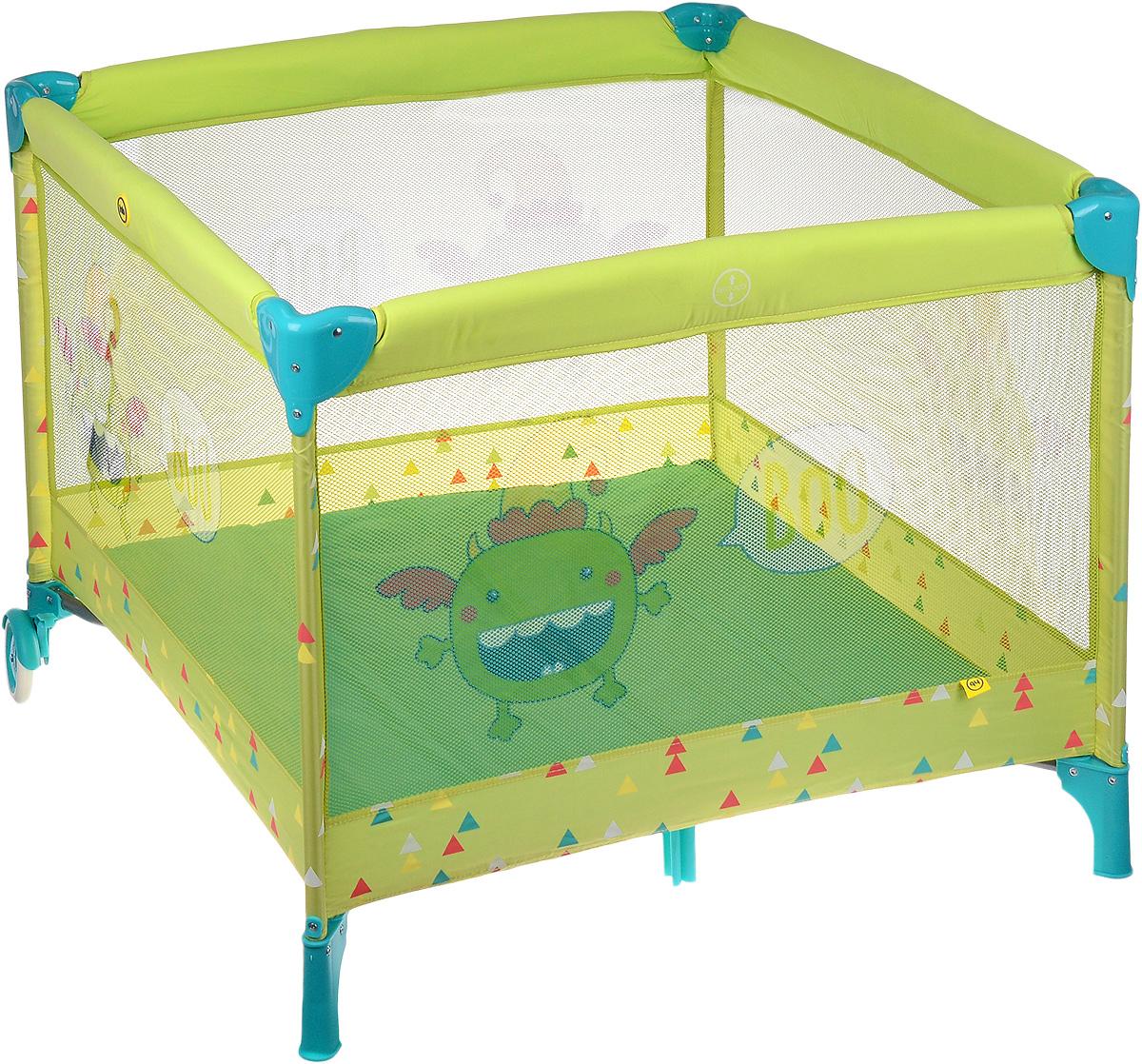 Happy Baby Манеж Alex цвет зеленый - Детская комната