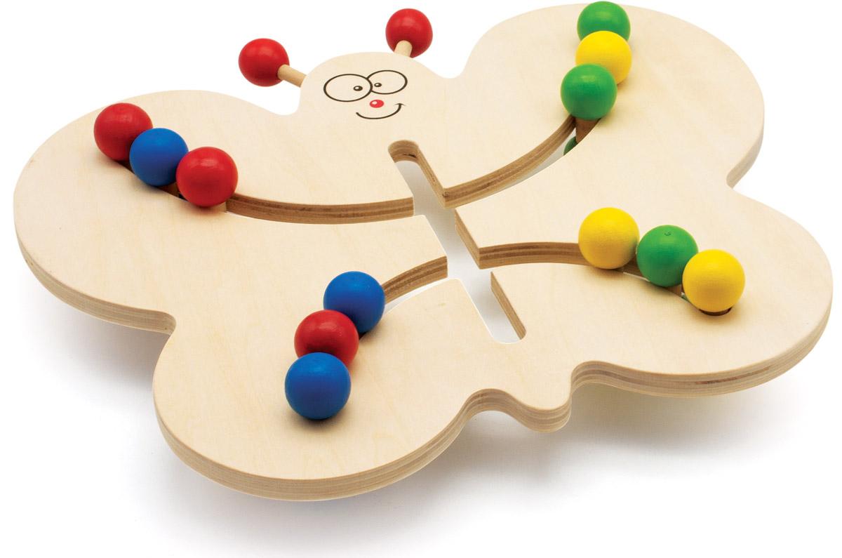 Мир деревянных игрушек Лабиринт Бабочка мир деревянных игрушек лабиринт каталка бабочка малая