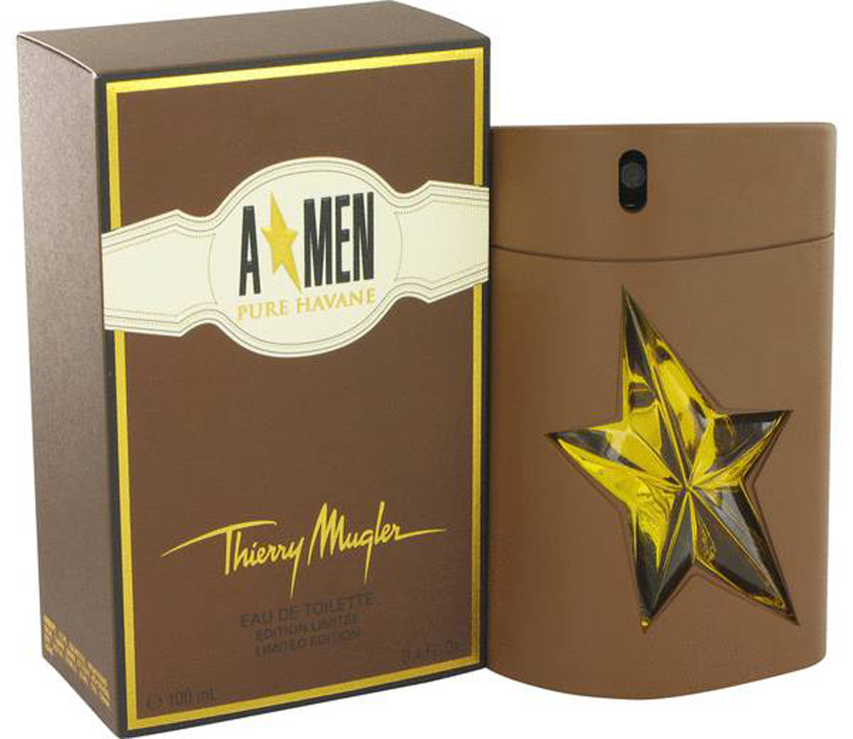 Thierry Mugler Туалетная вода A*Men Pure Havane, мужская, 100 мл