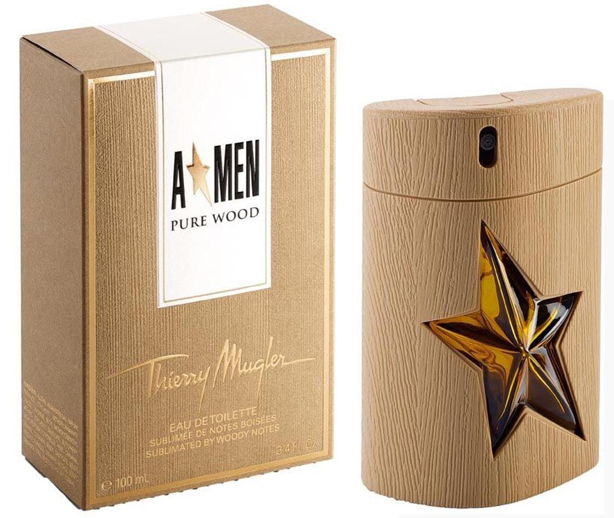 Thierry Mugler Туалетная вода A*Men Pure Wood, мужская, 100 мл13979Тип аромата: восточные, древесные. Начальная нота: дуб, кофе. Нота сердца: ваниль, пачули. Конечная нота: кипарис.