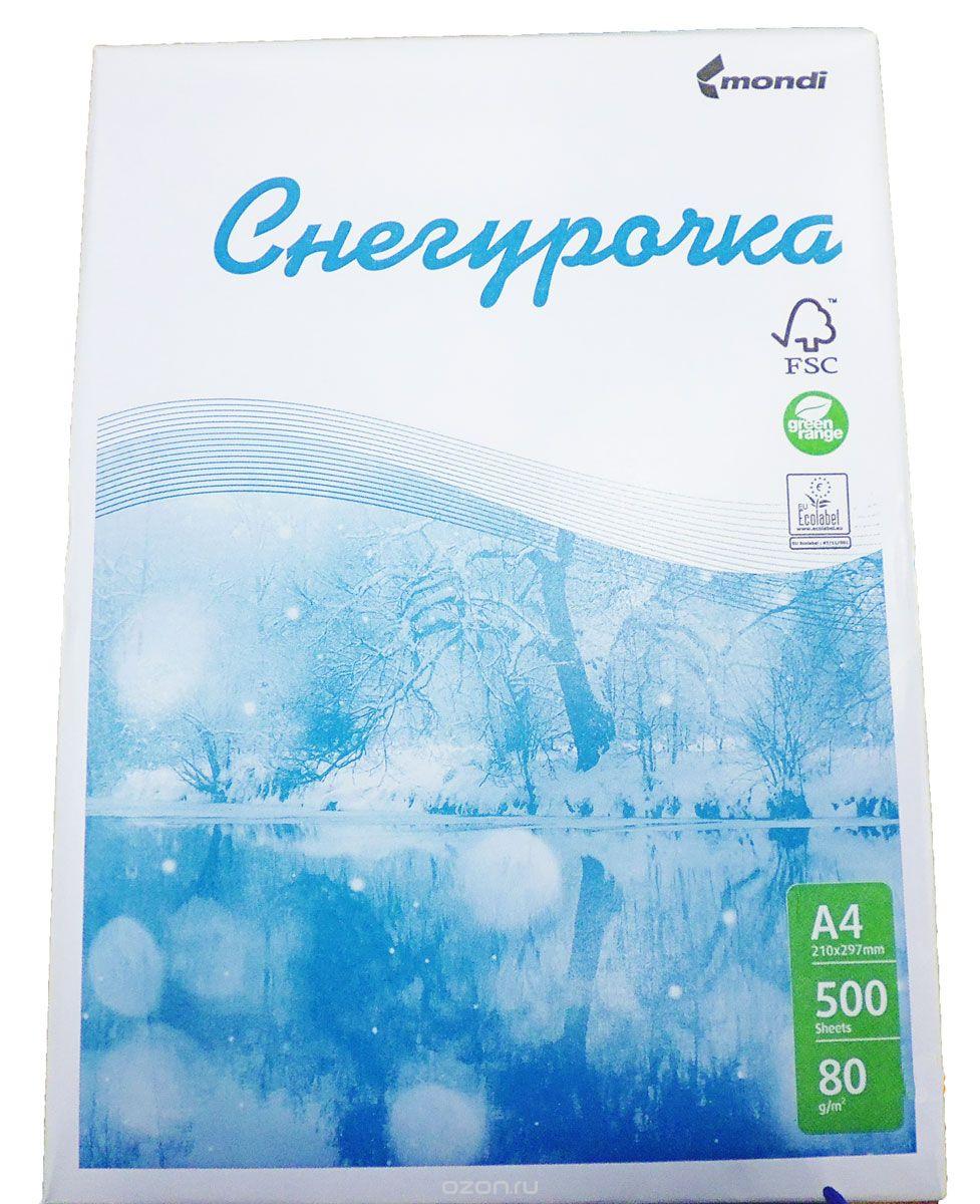 """Бумага офисная """"Снегурочка"""", 500 листов, А4"""