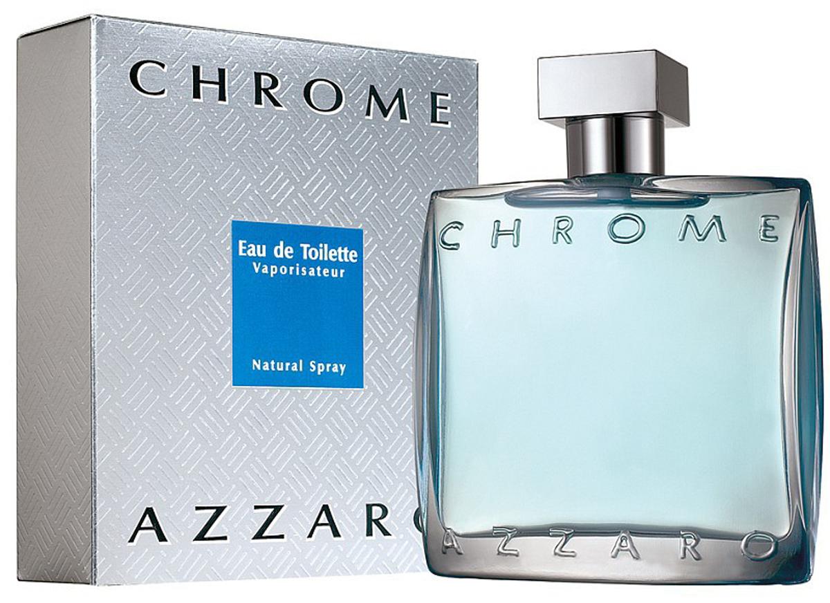 """Azzaro Туалетная вода """"Chrome"""", мужская, 50 мл"""