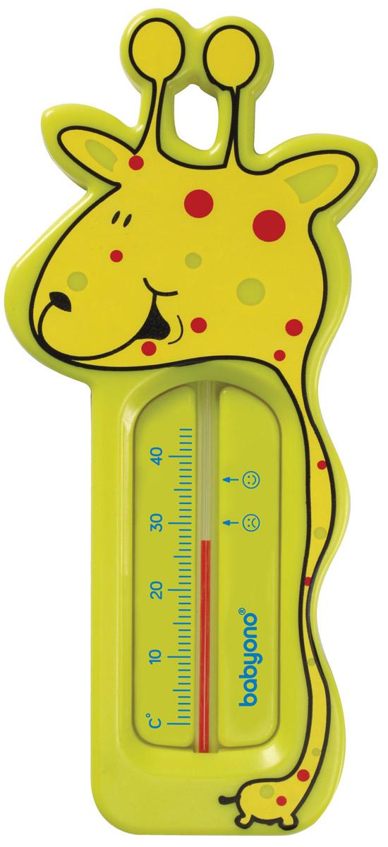 BabyOno Термометр для воды Жираф цвет салатовый -  Термометры