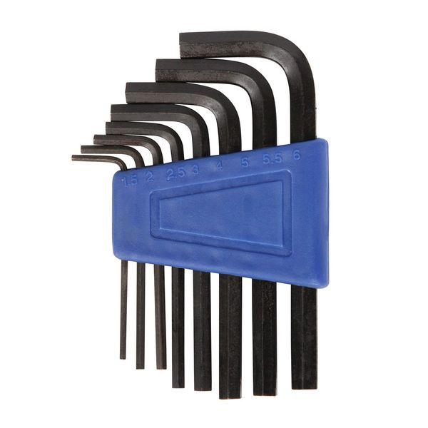 Ключи шестигранники STG YC-623, 1,5/2/2,5/3/4/5/6/8/10, 9 предметов. Х38943-5Х38943-5Ключи STG, включает в себя шестигранники 1,5/2/2,5/3/4/5/6/8/10 мм.Гид по велоаксессуарам. Статья OZON Гид