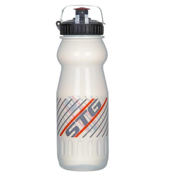 Фляга велосипедная ED-BT14, цвет: белый прозрачный, 600 мл. Х61862-5Х61862-5Фляга велосипедная STG ED-BT14 - это ваш первый помощник при длительных поездках, особенно в жаркое время года. Она всегда будет под рукой. Выполнена из гипоаллергенного пищевого пластика. Подходит под стандартные флягодержатели. Объем 600 мл.