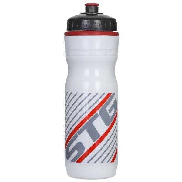 Фляга велосипедная STG ED-BT19, цвет: белый, 750 мл. Х61864-5Х61864-5Велофляга STG - это незаменимая вещь в походах и на велопрогулках на большие расстояния, подойдет для всех велосипедистов, любителей или профессионалов. Фляга выполнена из ударопрочного пластика стойкого к высоким температурам. Эргономичная форма велобутылки позволяет легко достать и быстро поместить ее во флягодержатель. Оптимальный объем фляги (750 мл) обеспечивает необходимое количество жидкости для подпитки велоспортсмена. Велофляга имеет удобный клапан с блокировкой, который препятствует проникновению воды. Широкое горлышко позволяет перелить воду из небольших емкостей без использования воронки.