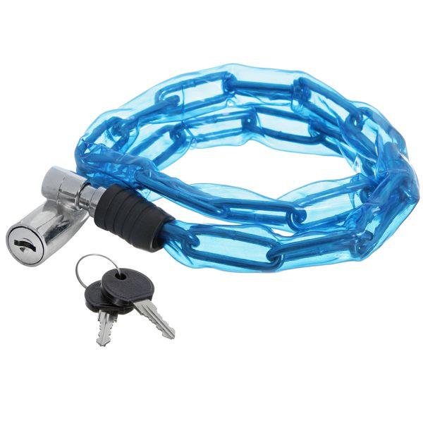 Замок велосипедный STG, трос спиральный, с ключом, 3,5 см х 80 смХ66520-5Замок STG в виде спирального троса убережет ваш велосипед от угона. Простая установка замка не вызовет сложностей у владельца транспортного средства, он легко открывается двумя ключами, которые поставляются в комплекте. Специальное пластиковое покрытие обеспечивает защиту краски вашего велосипеда от нежелательных царапин и сколов. Трос длиной в 80 см сворачивается в спираль и занимает мало места.Диаметр: 3,5 см.