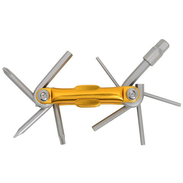 Набор шестигранных ключей Kengine HF61. Х70219Х70219Набор Kengine HF61 выполнен из металла. Такой компактный универсальный набор включает в себя все самые необходимые элементы и нужен любому велосипедисту.