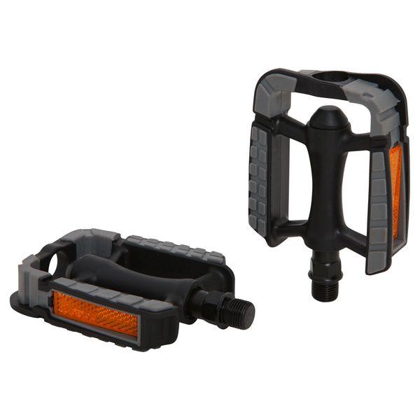Педали Wellgo C172U. Х70248Х70248Высокопрочные цельные педали Wellgo C172U выполнены из пластика и оснащены встроенными светоотражателями для безопасности.