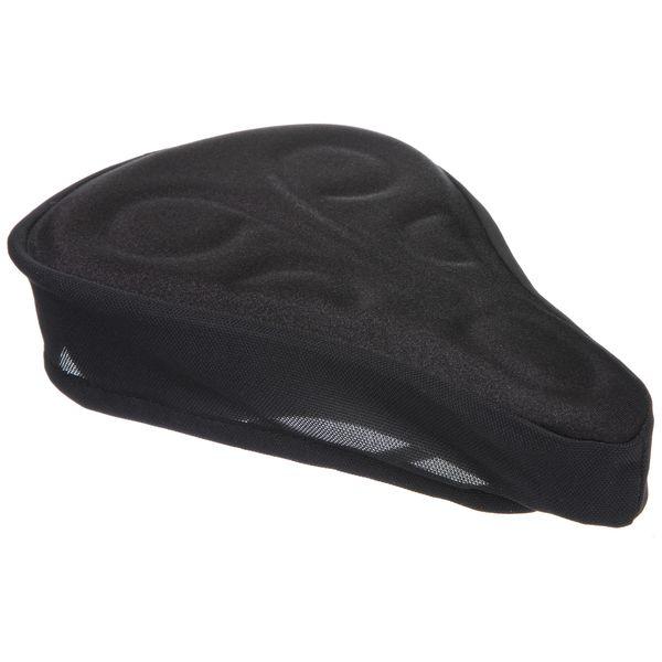 Чехол на седло STG YJ-310, цвет: черныйХ74019-5Изделие используется для смягчения жестких седел и длительных поездок на велосипеде. Оснащен удобным крепежом-затяжкой для быстрого снятия/установки на седле. Размер 255х158мм.