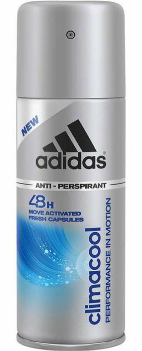 Adidas Антиперспирант спрей Climacool, мужской, 150 мл кроссовки adidas кроссовки climacool boat pure