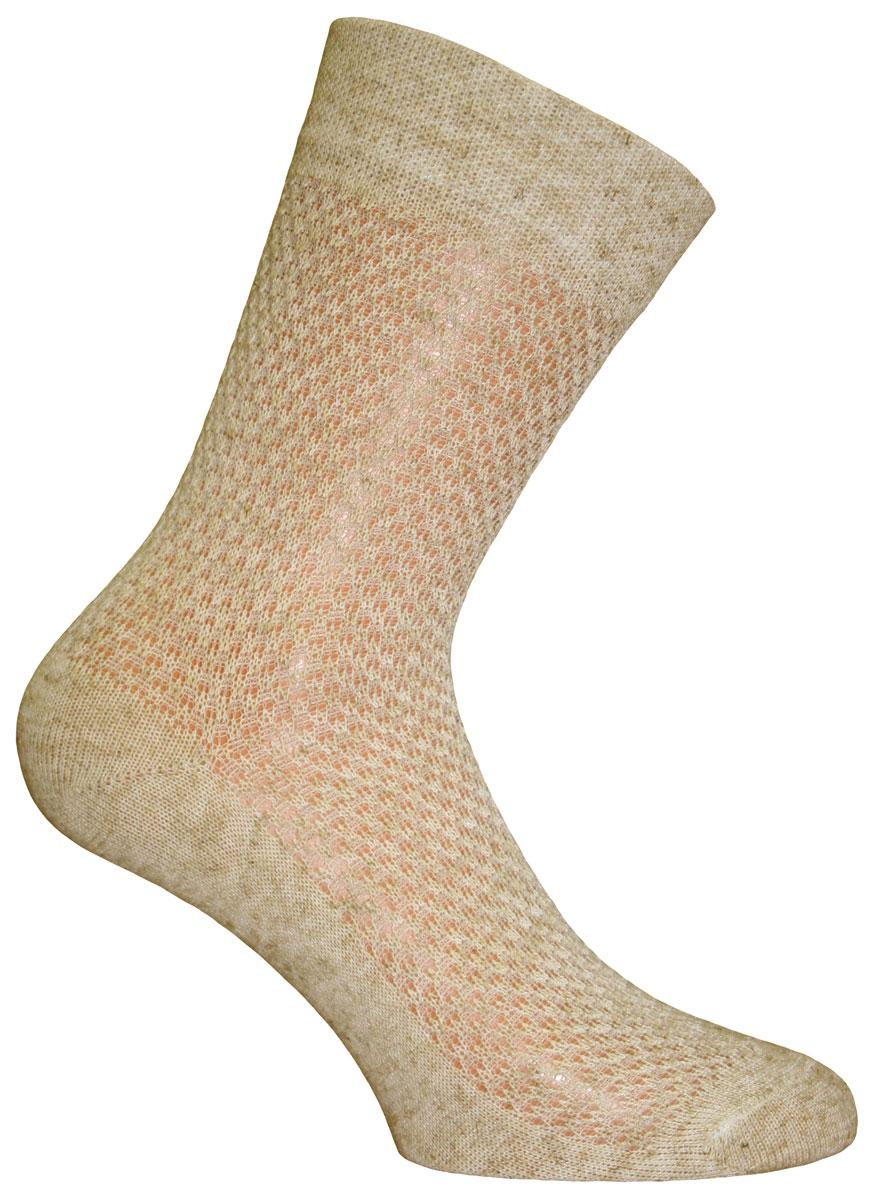 Носки мужские Master Socks Light Summer, цвет: бежевый. 58800. Размер 2558800Удобные носки Master Socks изготовлены из высококачественного комбинированного материала. Эластичная резинка плотно облегает ногу, несдавливая ее, обеспечивая комфорт и удобство. Носки с классическим паголенком.