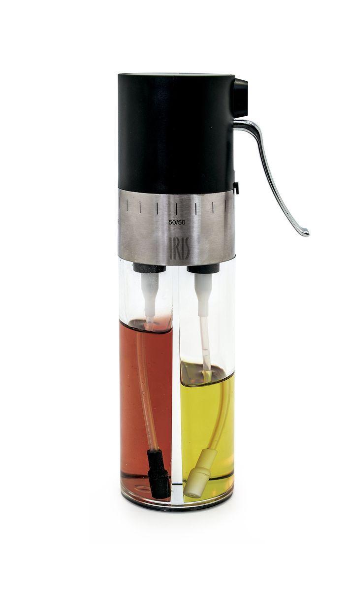 Диспенсер для масла и уксуса Iris Totkocina, с регулятором и фильтрами, цвет: черныйI3066-PNДиспенсер для масла и уксуса Iris Totkocina обладает особым дозатором спреем, который позволяет смешивать его содержимое в любых пропорциях. Также на нем установлен фильтр для отсеивания инородных частиц.Рекомендуется мыть в посудомоечной машине.Размер: 6 х 6 х 18 см.