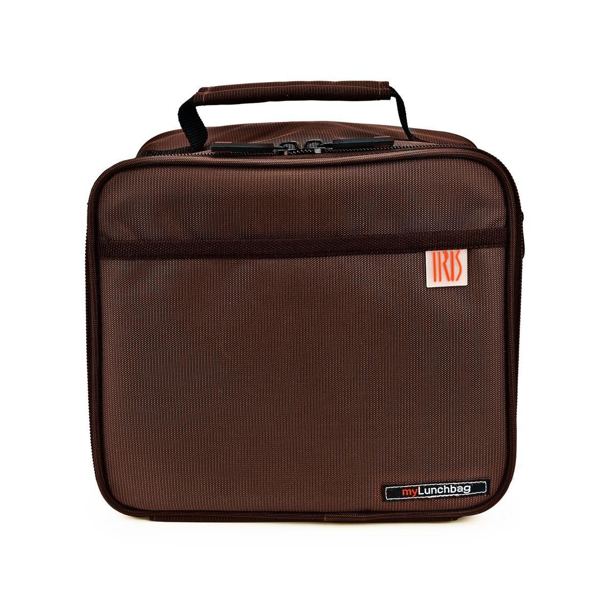 """Фото Термосумка для ланч-бокса Iris Barcelona """"Classic Pocket MyLunchbag"""", цвет: коричневый. Покупайте с доставкой по России"""