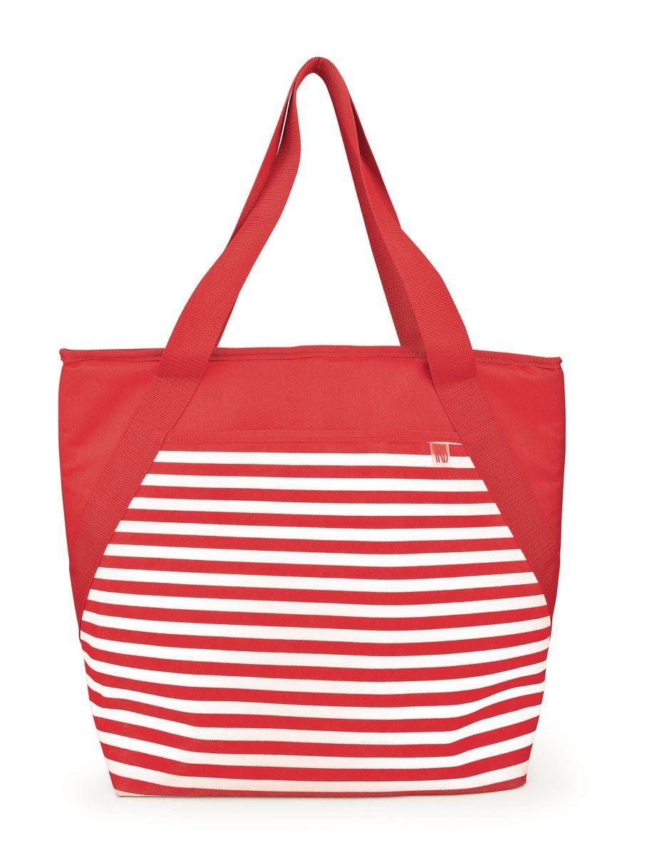 Сумка-холодильник Iris Barcelona Beach, цвет: красныйI9160-TСумка-холодильник Iris Barcelona Beach - лучший способ для транспортировки еды на пляж, пикник, в поездку, из супермаркета. Имеется просторный внешний карман, внутренний сетчатый карман. Сумка изготовлена из очень плотного, ультрастойкого изоляционного материала.Размер: 26 х 33 х 14 см.