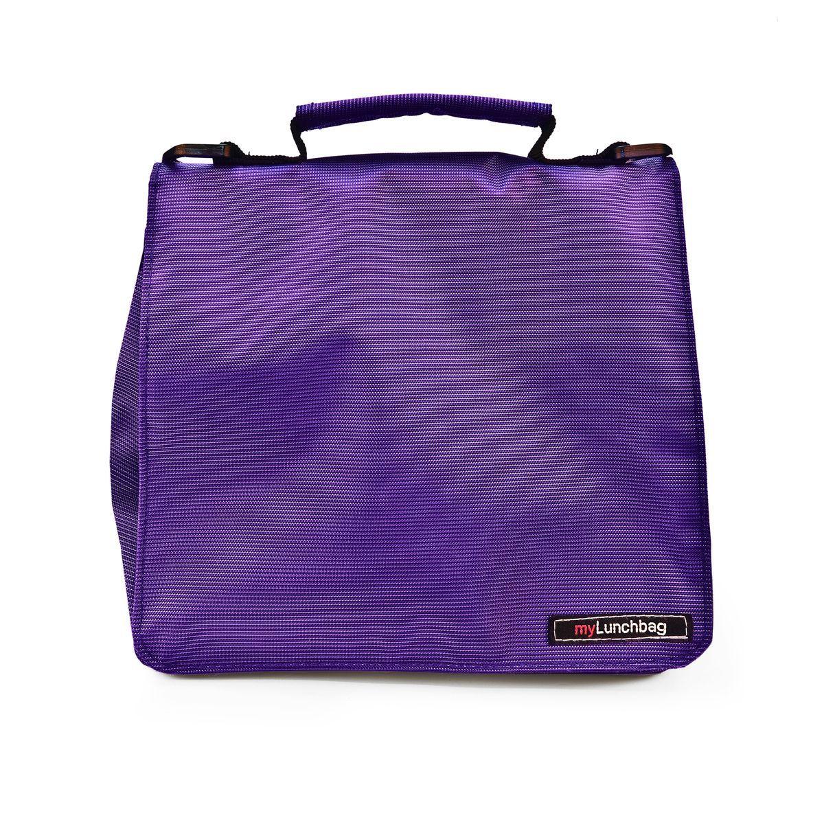 Термосумка для ланч-бокса Iris Smart MyLunchbag, цвет: фиолетовый, 25 х 13 х 20 смI9322-TXТермосумка для ланч-бокса Iris Smart MyLunchbag отлично сохраняет свежесть и вкус продукта на несколько часов. Она выполнена из полиэстера.Пригодится везде: на прогулке, на работе, учебе и т.д. С ней легко справится даже ребенок. Легко складывается до небольших размеров. Присутствует удобный кармашек для аксессуаров и регулируемый ремень для переноски (в одной руке или на плече).Рекомендуется регулярно стирать вручную в теплой воде с мылом.Размеры: 25 х 13 х 20 см.