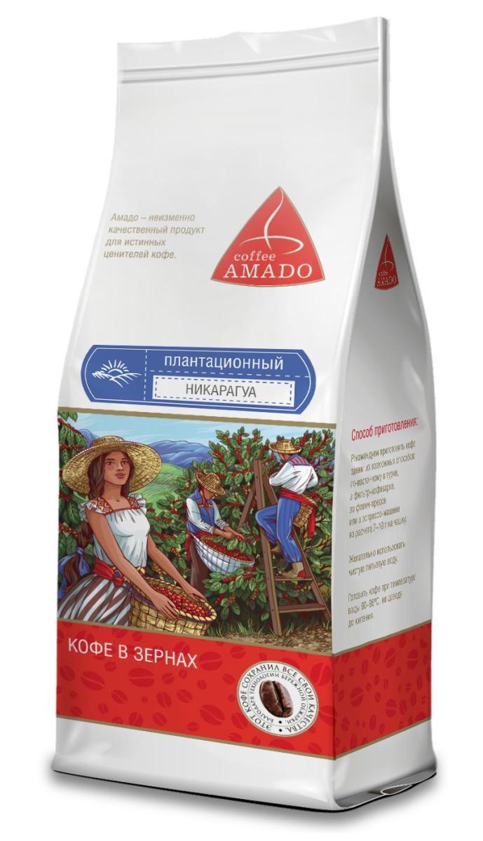 AMADO Никарагуа кофе в зернах, 200 г4607064130559Никарагуанский кофе славится крупными зернами, необычным слегка солоноватым вкусом, плотной консистенцией и прекрасным ароматом. Рекомендуемый способ приготовления: по-восточному, френч-пресс, гейзерная кофеварка, фильтр-кофеварка, кемекс, аэропресс.