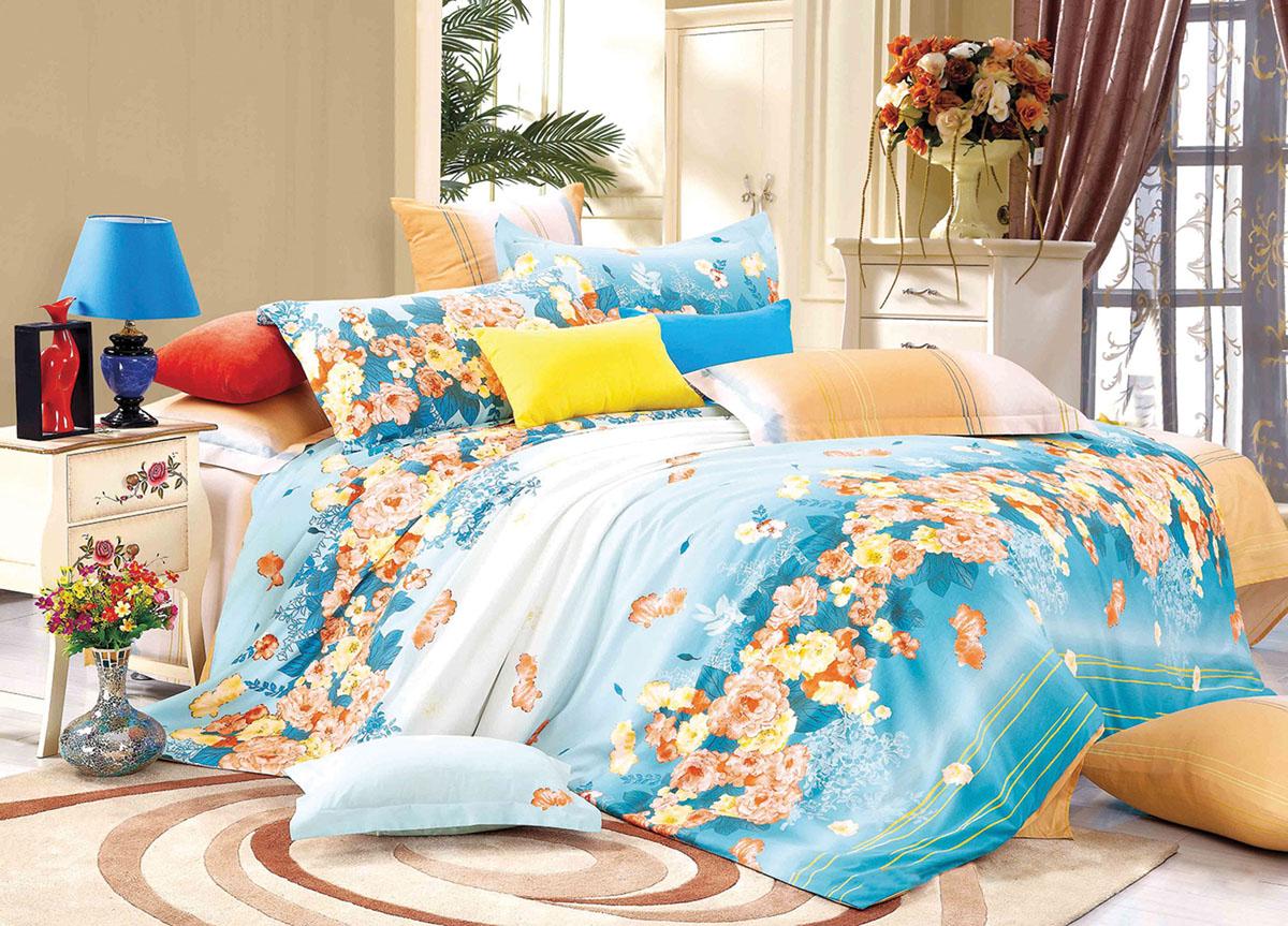 Комплект белья Primavera Classic Утренний сад, 2-спальный, наволочки 70x7072442Комплект постельного белья Primavera Classic Утренний сад является экологически безопасным для всей семьи, так как выполнен из высококачественного сатина (100% хлопка). Комплект состоит из пододеяльника на молнии, простыни и двух наволочек. Постельное белье оформлено ярким рисунком цветов и имеет изысканный внешний вид. Сатин - производится из высших сортов хлопка, а своим блеском и легкостью напоминает шелк. Постельное белье из сатина превращает жаркие летние ночи в прохладные и освежающие, а холодные зимние - в теплые и согревающие. Приобретая комплект постельного белья Primavera Classic Утренний сад, вы можете быть уверенны в том, что покупка доставит вам и вашим близким удовольствие и подарит максимальный комфорт.