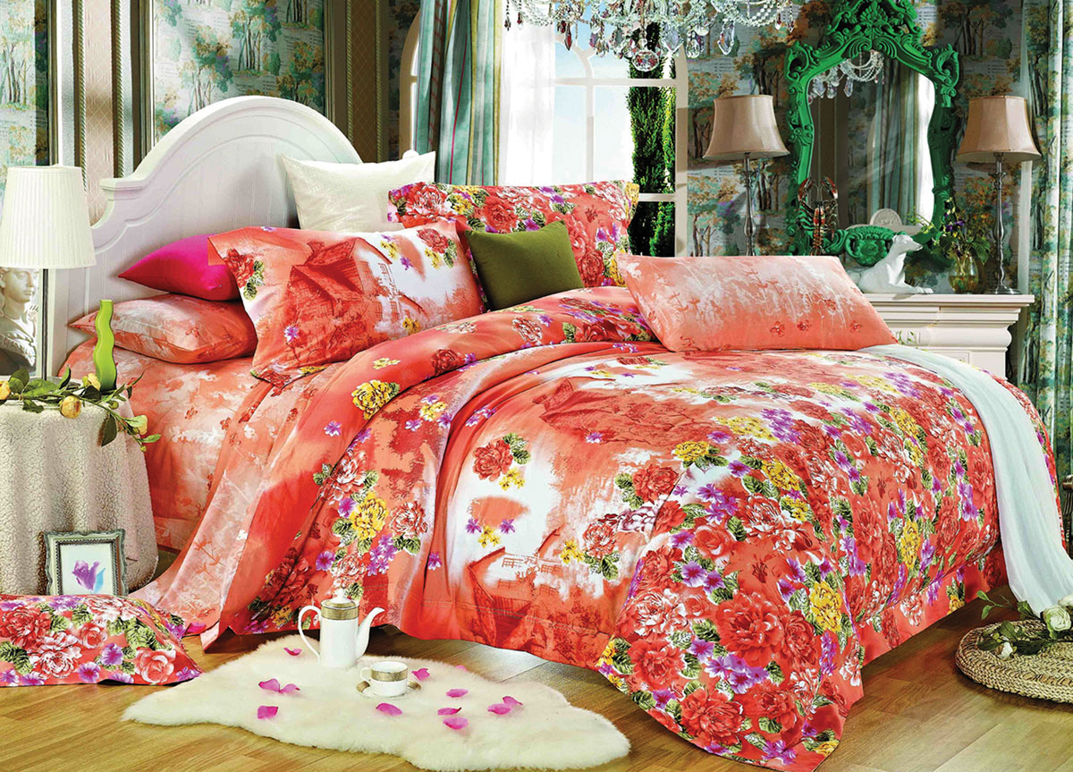 Комплект белья Primavera Classic Усадьба, 1,5-спальный, наволочки 70x7072811Комплект постельного белья Primavera Classic Усадьба является экологически безопасным для всей семьи, так как выполнен из высококачественного сатина (100% хлопка). Комплект состоит из пододеяльника на молнии, простыни и двух наволочек. Постельное белье оформлено ярким рисунком цветов и имеет изысканный внешний вид. Сатин - производится из высших сортов хлопка, а своим блеском и легкостью напоминает шелк. Постельное белье из сатина превращает жаркие летние ночи в прохладные и освежающие, а холодные зимние - в теплые и согревающие. Приобретая комплект постельного белья Primavera Classic Усадьба, вы можете быть уверенны в том, что покупка доставит вам и вашим близким удовольствие и подарит максимальный комфорт.Советы по выбору постельного белья от блогера Ирины Соковых. Статья OZON Гид