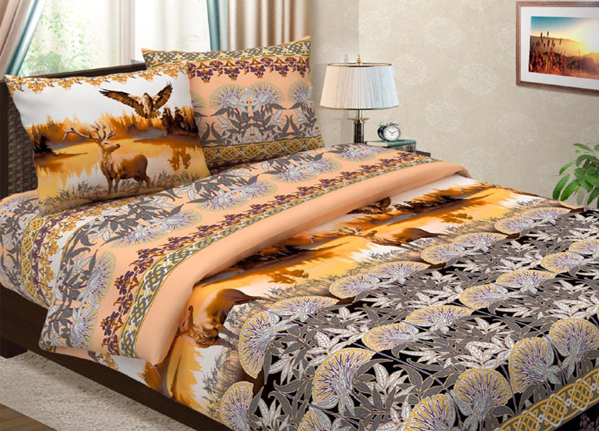 Комплект белья Primavera Легенда, 2-спальный, наволочки 70x7085864Комплект постельного белья Primavera Легенда является экологически безопасным для всей семьи, так как выполнен из высококачественной бязи. Комплект состоит из пододеяльника, простыни и двух наволочек. Постельное белье оформлено ярким рисунком и имеет изысканный внешний вид. Бязь - 100 % хлопок, хлопчатобумажная ткань полотняного переплетения. Ткань прочная, мягкая, имеет внешний вид одинаковый с лицевой и изнаночной стороны. Обладает низкой сминаемостью, легко стирается и хорошо гладится.Приобретая комплект постельного белья Primavera Легенда, вы можете быть уверенны в том, что покупка доставит вам и вашим близким удовольствие и подарит максимальный комфорт.
