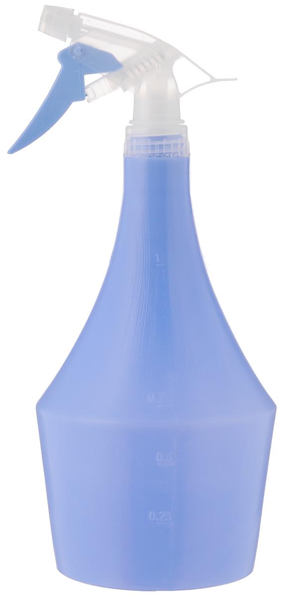 Опрыскиватель Idea Пирамида, цвет: голубой, 1 л опрыскиватель компрессионный kwazar venus pro 360 цвет белый голубой 1 5 л