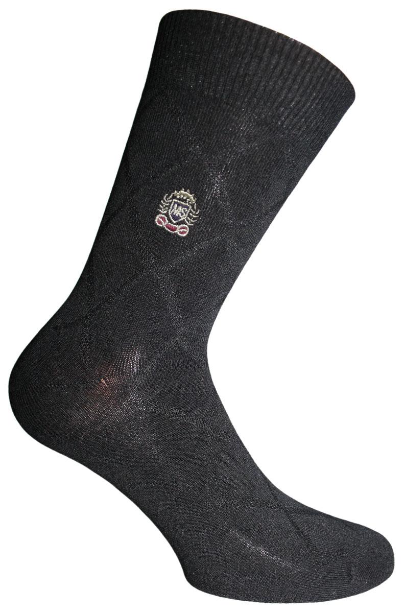Носки мужские Master Socks Soft Bamboo, цвет: черный. 88617. Размер 2788617Удобные носки Soft Bamboo от Master Socks изготовлены из высококачественного бамбука с добавлением полиамида и эластана. Эластичная резинка плотно облегает ногу, не сдавливая ее, обеспечивая комфорт и удобство. Носки с паголенком классической длины.