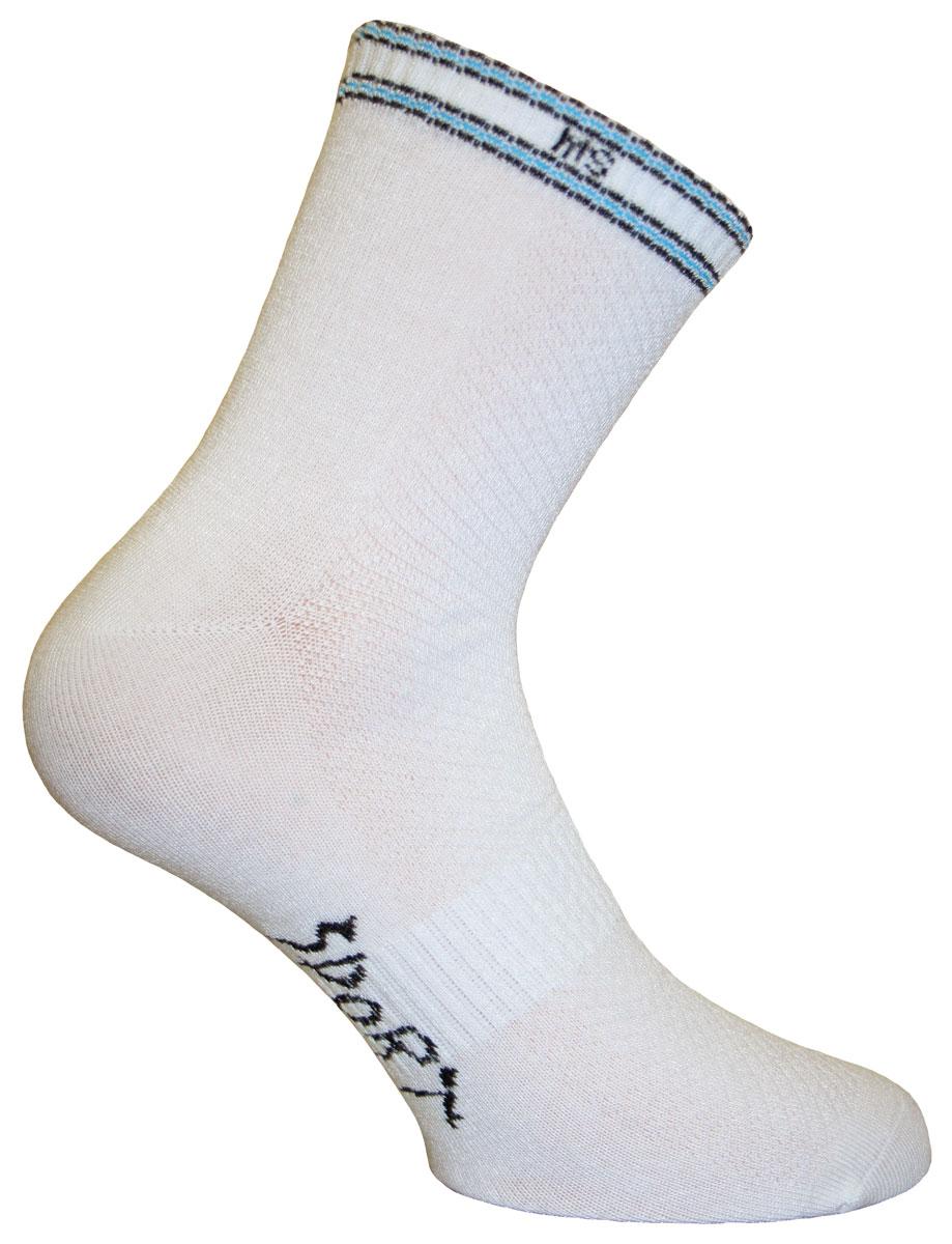 Носки мужские Master Socks, цвет: белый. 88690. Размер 2588690Носки Master Socks изготовлены из натурального бамбука с добавлением полиамида и эластана. Изделия из бамбука обладают очень хорошей воздухопроницаемостью, отлично впитывают влагу, не прилипают к коже и быстро сохнут. Такие носки не садятся при стирке, не линяют и обеспечат полную гигиену ног. Эластичная резинка плотно облегает ногу, не сдавливая ее, обеспечивая комфорт и удобство.