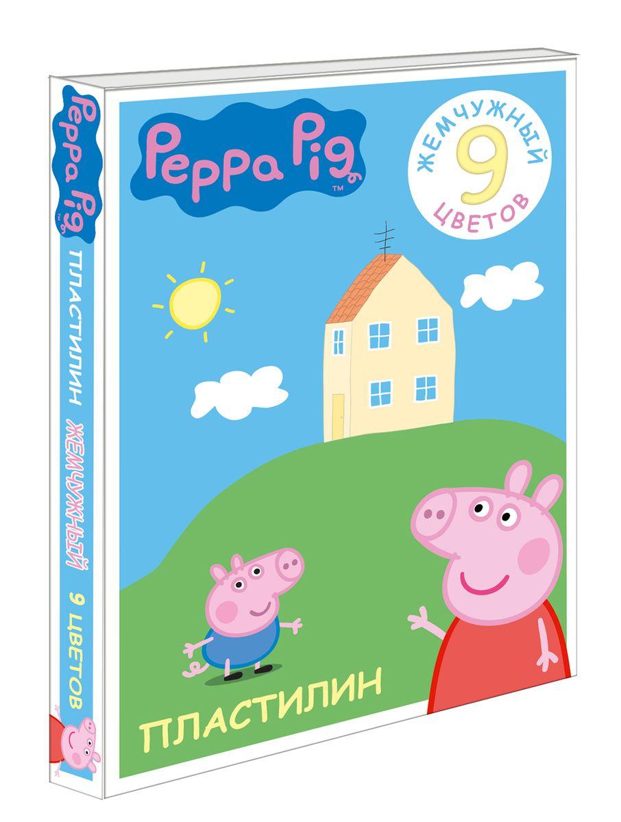 Peppa Pig Пластилин Свинка Пеппа 9 цветов peppa pig пластилин свинка пеппа 12 цветов
