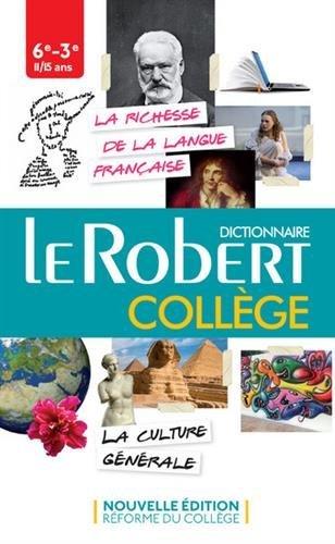 Le dictionnaire College - dictionnaire de la langue francaise (Le Robert College) les blousons noirs les blousons noirs l histoire du rock francais