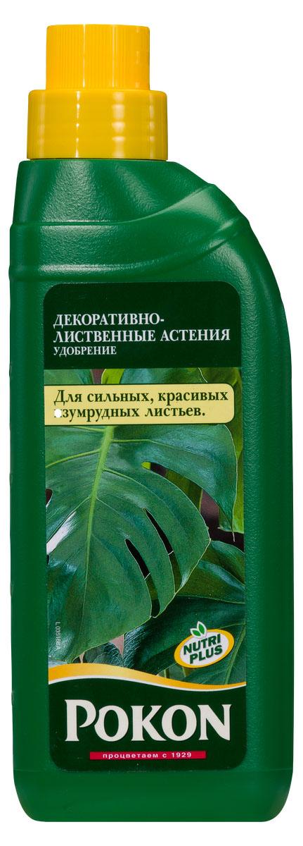 Удобрение Pokon для декоративно-лиственных растений, 500 мл8719400007688Это сбалансированное удобрение специально разработано для декоративно-лиственных растений. Новая формула включает необходимые питательные элементы в сочетании с натуральной добавкой из гуминовых экстрактов. Благодаря этому оптимизируется естественный баланс грунта и улучшается доступ питательных веществ к растениям. Добавление азота стимулирует здоровый рост листьев.Инструкция по применению:- Перед применением встряхните.- Добавьте удобрение в воду для полива, отмерив нужное количество мерной крышечкой (10 мл на 1 л воды).- Поливайте растения раствором удобрения 1 раз в неделю.- Зимой уменьшайте дозировку вдвое (5 мл на 1 л воды).- После каждого полива ополаскивайте лейку чистой водой.- Используйте удобрение круглый год.Состав: жидкое удобрение с соотношением NPK 8 + 3 + 5 и с добавкой микроэлементов, содержащее гуминовые экстракты с натуральными питательными веществами.Товар сертифицирован.