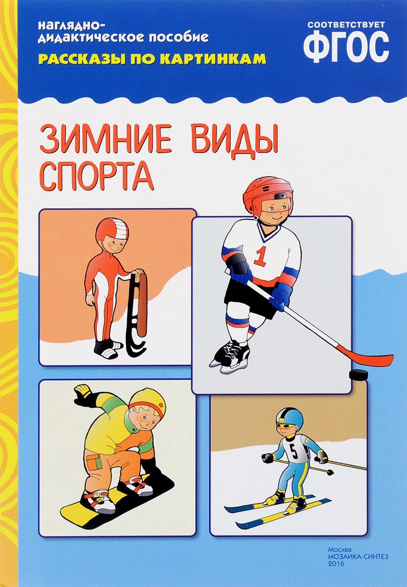 Зимние виды спорта. Наглядно-дидактическое пособие