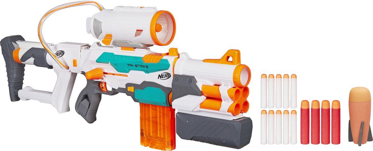 Nerf Бластер Tri-Strike nerf бластер n strike elite quadrant