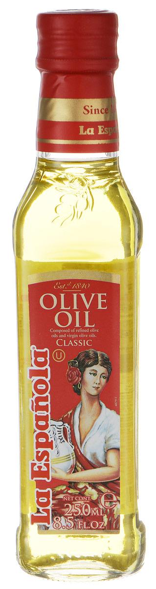 La Espanola масло оливковое рафинированное, 250 мл масло касторовое выдумщики рафинированное 100 мл
