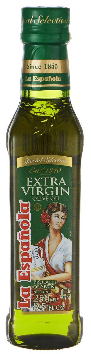 La Espanola Extra Virgin масло оливковое нерафинированное, 250 мл8410660101481Нерафинированное оливковое масло La Espanola, полученное методом холодного прессования, это ценнейший диетический, оздоровительный продукт для правильного и рационального питания, который легче других масел усваивается организмом. Масло идеально подходит для жарки, поскольку обладает высокой температурой нагревания, сохраняет свою структуру, а, значит, все полезные свойства. Оливковое масло также идеально подходит для заправки салатов. Продукт обладает приятным ароматом, который украсит любое приготовленное вами блюдо. Оливковое масло La Espanola изготавливается в Испании группой компаний Aceites del Sur, которая производит оливковое масло с 1840 года, что сделало ее экспертом в этой области. Использование традиционных методов производства оливкового масла и строгий контроль качества на каждом этапе производственной цепочки позволяет снабжать рынок продукцией самого высокого качества.
