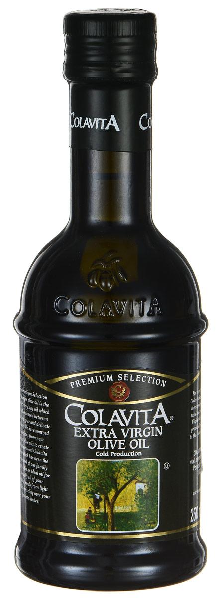 Colavita Extra Virgin масло оливковое нерафинированное, 250 млCLEXTM250Colavita Extra Virgin - это оливковое масло первого холодного отжима. Густое темное нерафинированное масло обладает легкой горчинкой, изготовлено без фильтрации, из свежих итальянских оливок, сохранивших все свои натуральные свойства. Нерафинированное масло - это ценнейший диетический, оздоровительный продукт для правильного и рационального питания, который легче других масел усваивается организмом. Масла для здорового питания: мнение диетолога. Статья OZON Гид