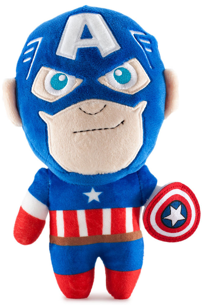 Marvel Phunny's. Мягкая игрушка Captain America single sale kf364 super heroes hell boy fixer thuderbolts captain canuck marvel melter bricks building blocks children gift toys