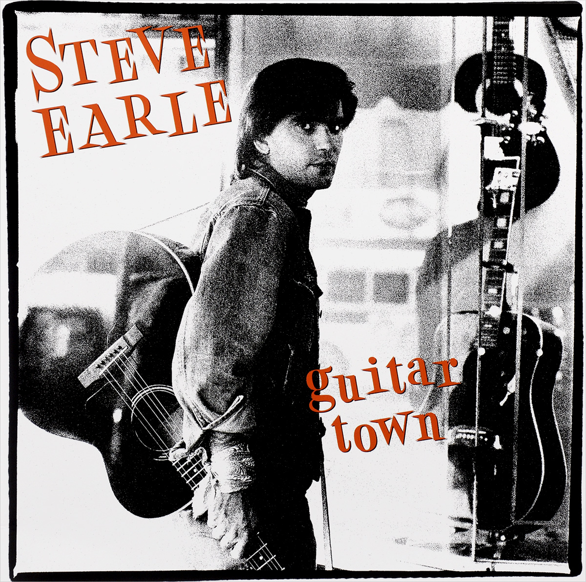 Стив Эрль Steve Earle. Guitar Town (LP) acoustic guitar neck fingerboard fretboard for guitar parts replacement rosewood zebrawood veneer