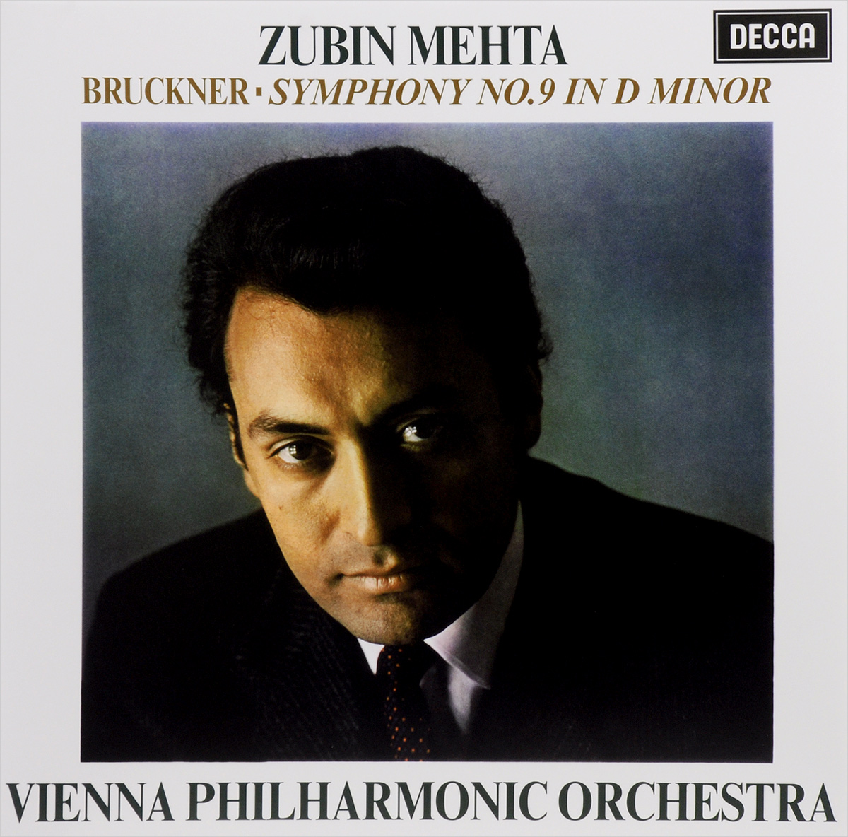 Zubin Mehta. Bruckner. Symphony No. 9 In D Minor (LP)