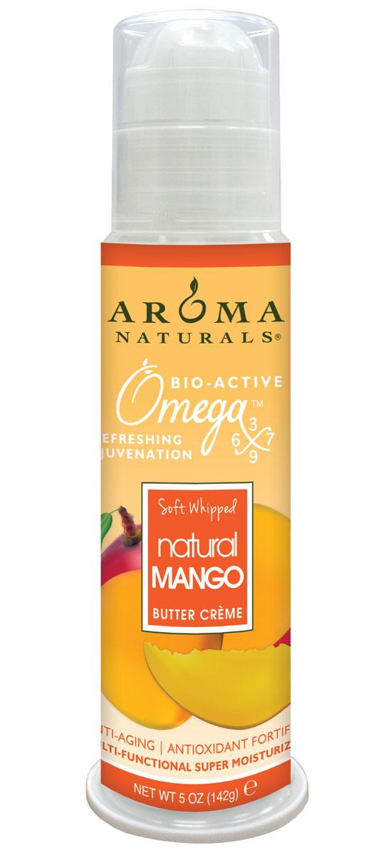 Aroma Naturals Супер увлажняющий крем с маслом манго, 142 гAR94764Полученные из косточек манго масла содержат кислоты: линолевую, олеиновую, стеариновую, фолиевую, которые отлично борются с признаками старения. Масла и минералы (магний, железо, кальций) способствуют восстановлению сухой чувствительной кожи. Крем не закупоривает поры, укрепляет коллаген, является кожным регенерантом, выравнивает цвет лица, предупреждает появление морщин, и разглаживает уже имеющиеся. Масло граната содержит фитоэстрагены, которые влияют на устранение возрастных признаков.