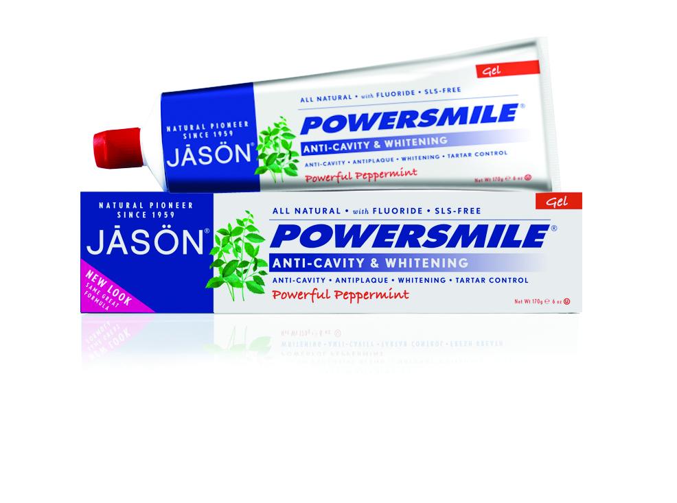 Jason Гелевая зубная паста Сила улыбки, 170 г jason шампунь и гель для душа с лавандой успокаивающий jason cosmetics shampoo