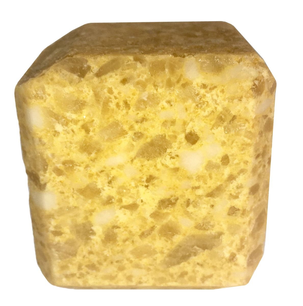 Соль для бани Proffi Sauna, с маслом лимонаPS0551Прессованный кубик из соли Proffi Sauna подходит для сауны и бани. Имеет приятный аромат лимона.Заходя в бане / сауне в парилку, Вы ставите кубик из соли на камни и поливаете камень водой. В результате образуется облако соляного пара, а по всей парилке разносится приятный аромат. 1 кубик рассчитан на 1 применение.Состав: чистая природная структурированная соль, эфирное масло.