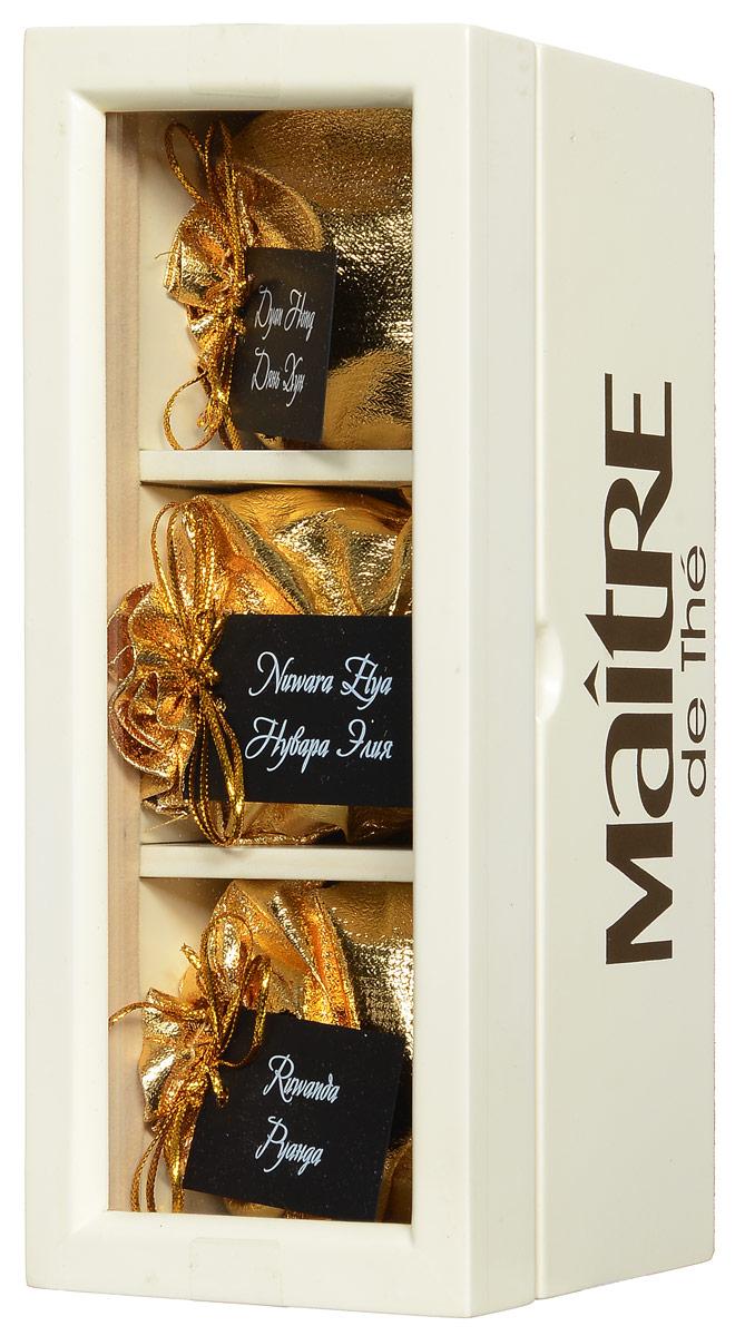 Maitre V.I.P. набор черного листового чая, 90 г amore de bohema для самой дорогой подарочный набор листового чая 400 г