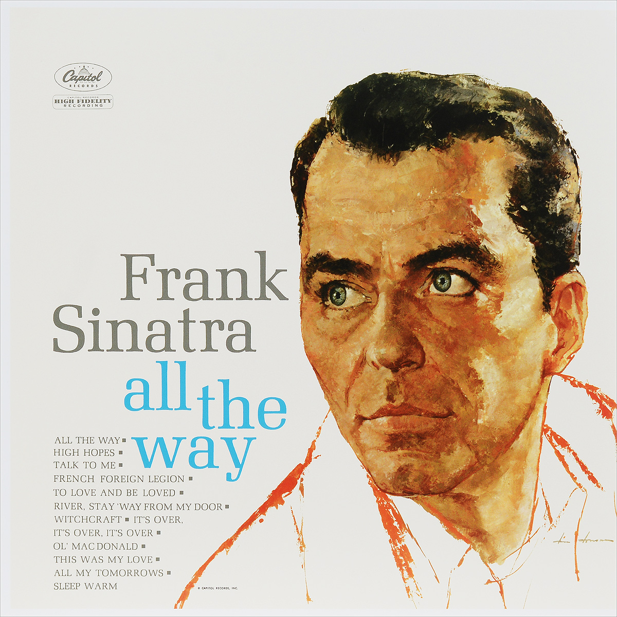 Фрэнк Синатра Frank Sinatra. All The Way (LP) free shipping original laptop motherboard for hp probook 4510s 4410s 4710s 535857 001 pga478 gm45 ddr2 fully tested