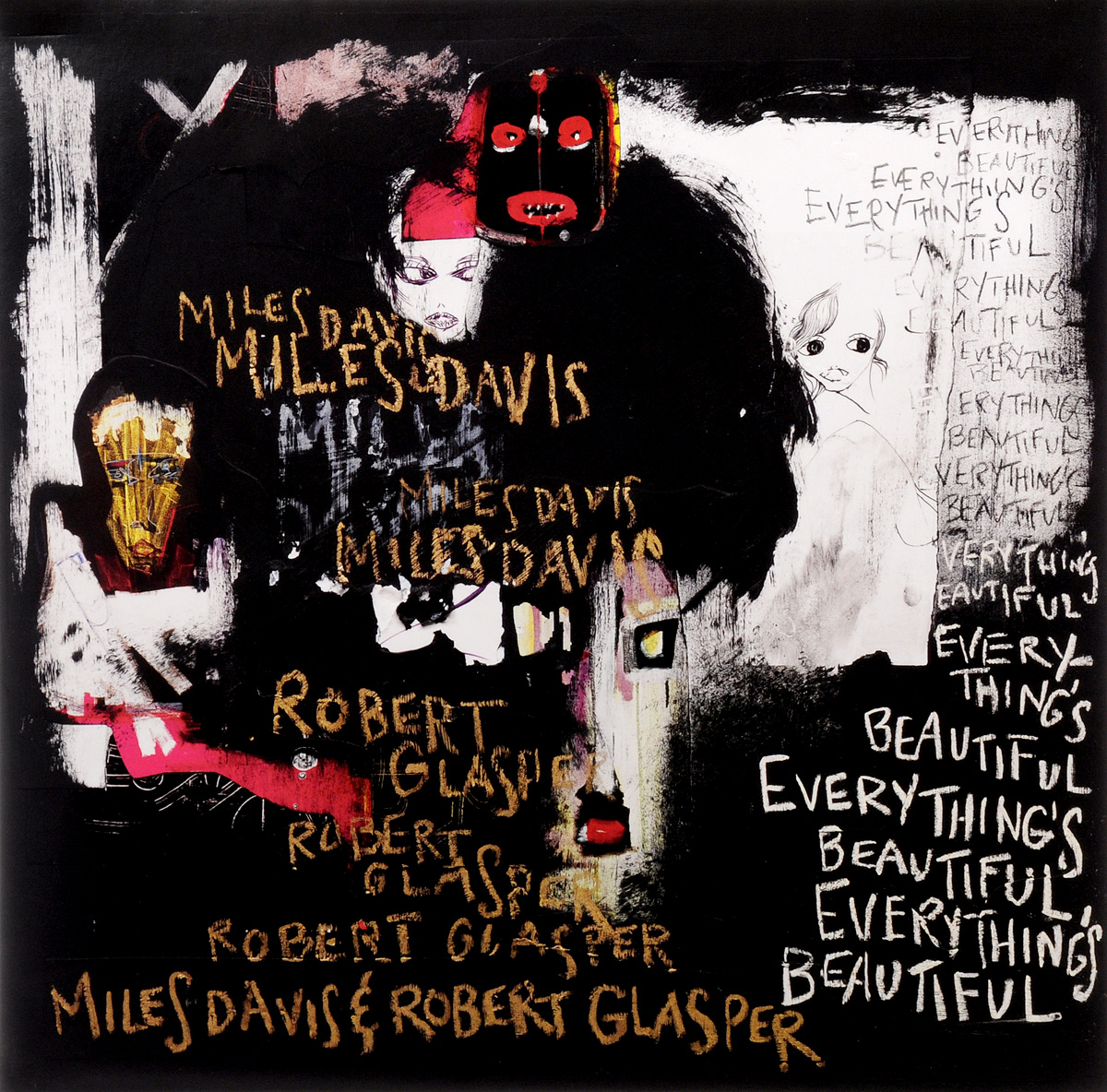Майлз Дэвис,Роберт Глеспер Miles Davis & Robert Glasper. Everything's Beautiful (LP) miles davis robert glasper miles davis robert glasper everything s beautiful