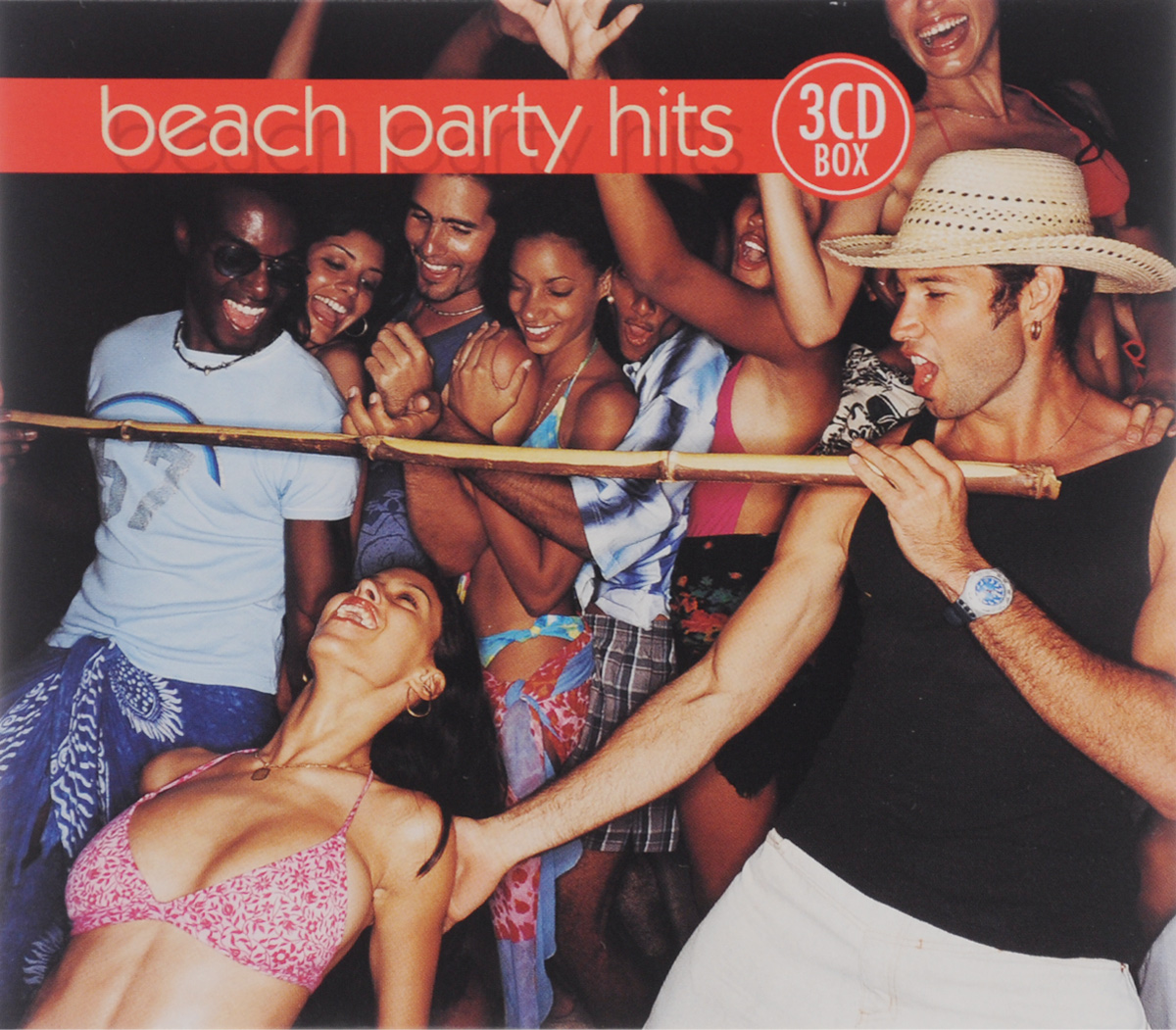Тина Чарльз,The Blue Chips,Tricky Girls,Jump & Joy!,3t,Karmah,In-Grid,Carrilio,Франческо Наполи,Beach Bumpers,Inner Feeling,Дженнифер Лопес,Марсель Романов,Activate,`CoColoCo`,Марга Дредд,TNN,24th Street,`Los Piranas`,Sunflash,Da Copa Kids,Reggae-Esque,Justine Earp,Уолтер Нита,Джесси Грин Beach Party Hits (3 CD) видеоигра для ps4 just dance 2018