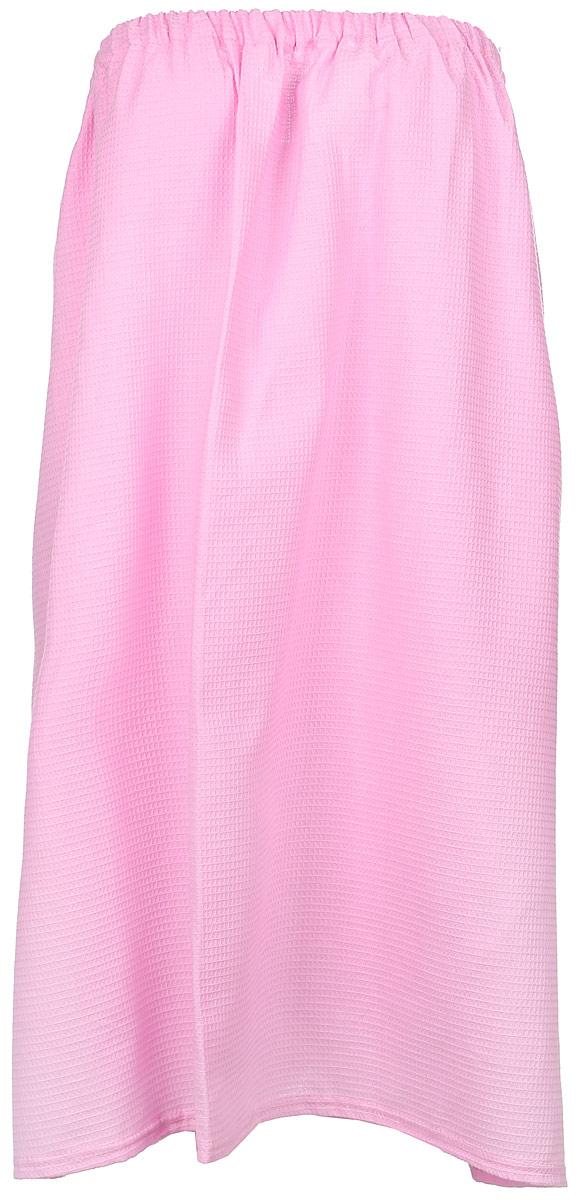 Парео для бани и сауны Главбаня, цвет: розовый. Б85