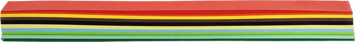 Набор бумаги для квиллинга АртНева, цвет: зеленый, голубой, желтый, ширина 15 мм, 250 листов688925Бумага для квиллинга АртНева - это порезанные специальным образом полоски определенной плотности. Такая бумага пластична, не расслаивается, легко и равномерно закручивается в спираль, благодаря чему готовым спиралям легче придать форму. В наборе - 250 полосок бумаги десяти разных цветов. Квиллинг (бумагокручение) - техника изготовления плоских или объемных композиций из скрученных в спиральки длинных и узких полосок бумаги. Из бумажных спиралей создаются необычные цветы и красивые витиеватые узоры, которые в дальнейшем можно использовать для украшения открыток, альбомов, подарочных упаковок, рамок для фотографий и даже для создания оригинальных бижутерий. Это простой и очень красивый вид рукоделия, не требующий больших затрат. Количество цветов: 10. Ширина полоски бумаги: 15 мм. Длина полоски бумаги: 29,7 см. Плотность бумаги: 80 г/м2.