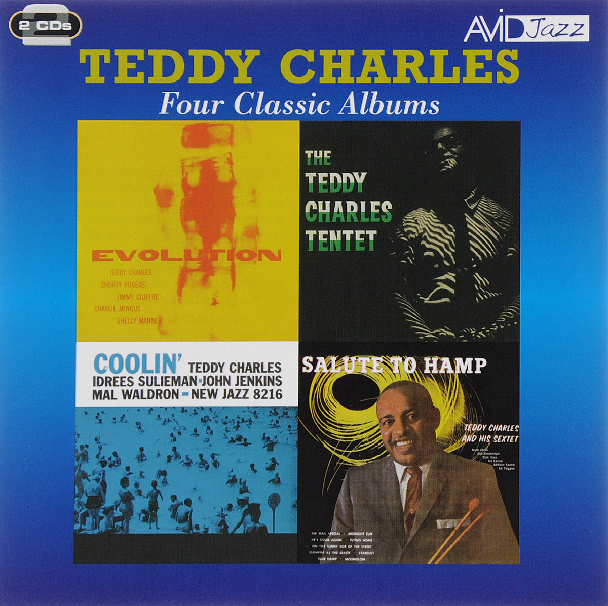 Тедди Чарльз Avid Jazz. Teddy Charles. Four Classic Albums (2 CD) avid dolby surround tools